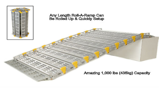 Ramps, Portable Ramps & Ramp Accessories   Roll-A-Ramp®