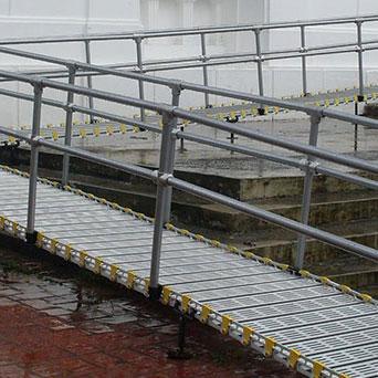 Aluminum Ramp Handrail