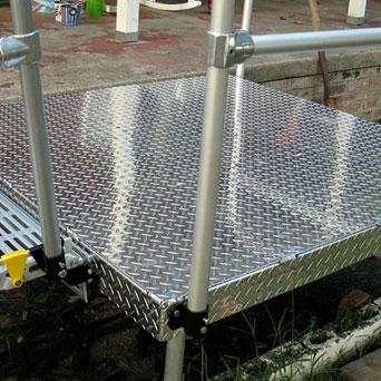 access ramp platform