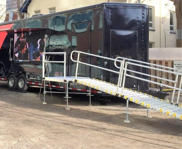Rv Trailer Ramps Roll A Ramp