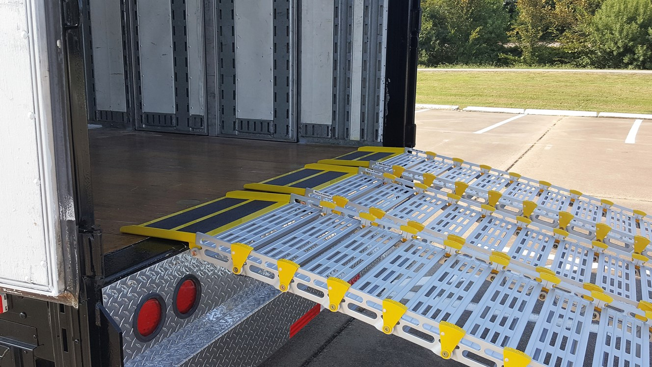 22in ramps with HDAP on trailer – Reduced